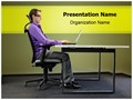 Office Ergonomics Editable PowerPoint Template