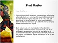 Samurai Fighting Editable PowerPoint Template