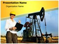 Engineer Oilfield Editable PowerPoint Template