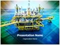Oil Refinary Editable PowerPoint Template