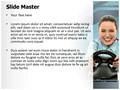 Game Steering Wheel Editable PowerPoint Template