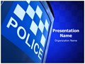 Police Station Editable PowerPoint Template