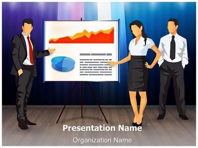 Corporate Presentation Teamwork Editable PowerPoint Template
