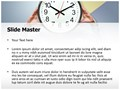 Time Pressure Editable PowerPoint Template