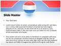 Netherlands Flag Icon Editable PowerPoint Template