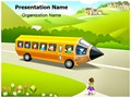 Children School Education Editable PowerPoint Template