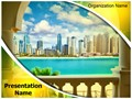 Dubai Tourism Editable PowerPoint Template