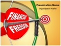Financial Freedom Editable PowerPoint Template