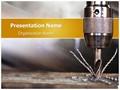 Drill Machine Editable PowerPoint Template