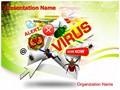 Email Virus Editable PowerPoint Template