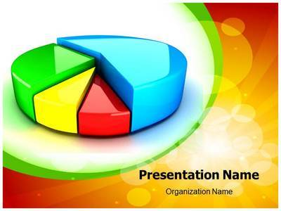 Pie Chart Editable PowerPoint Template