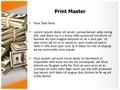 Cash Money Editable PowerPoint Template