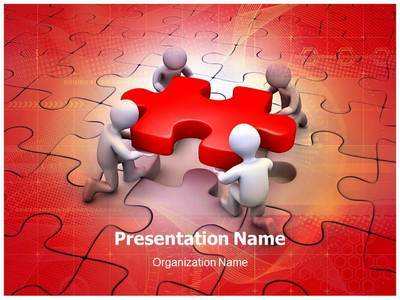 Puzzle Editable PowerPoint Template