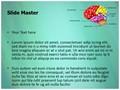 Cerebellum Brain Parts Editable PowerPoint Template