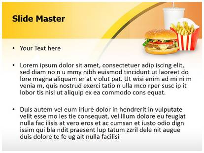Free Fast Food Mcdonalds Medical Medical Powerpoint Template
