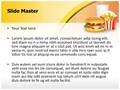 Fast Food Mcdonalds Editable PowerPoint Template