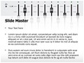 Music Equalizer Mixing Console Editable PowerPoint Template