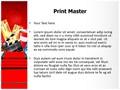 Red Carpet Entertainment Editable PowerPoint Template