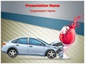 Drunk Drive Editable PowerPoint Template
