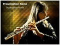 Flutist Editable PowerPoint Template