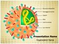 Influenza Virion Structure Editable PowerPoint Template