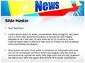 Journalism Breaking News Editable PowerPoint Template
