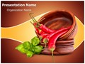 Hot Red Chili Editable PowerPoint Template