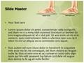 Pes Planus Flat Foot Editable PowerPoint Template