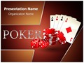 Poker Dice Cards Editable PowerPoint Template