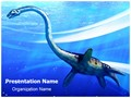 Plesiosaur Editable PowerPoint Template