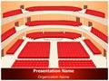 Theater Hall Interior Editable PowerPoint Template