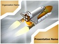 Space Shuttle Editable PowerPoint Template