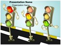 Traffic Signs Traffic Rules Editable PowerPoint Template
