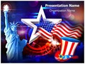 American Independence Day Editable PowerPoint Template