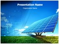 Solar Panel Editable PowerPoint Template