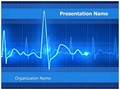 Medical Equipment Electrocardiogram Editable PowerPoint Template