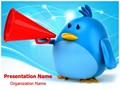 Tweet Editable PowerPoint Template