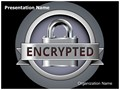 Secure Connection Encryption Editable PowerPoint Template