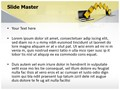 Technology Computer Data Transfer Editable PowerPoint Template