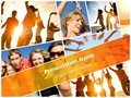 Collage Leisure Activities Editable PowerPoint Template
