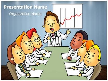 Free Medical Professionals Board Meeting Medical Powerpoint