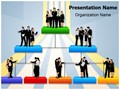 Organisation Hierarchy Editable PowerPoint Template