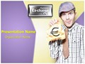 Foreign Currency Exchange Editable PowerPoint Template
