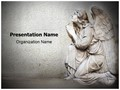 Guardian Christian Angel Editable PowerPoint Template