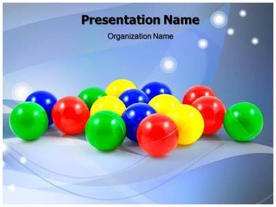 Balls Editable PowerPoint Template