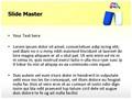 Gender Symbol Pill Editable PowerPoint Template
