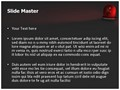 Red Siren Light Editable PowerPoint Template