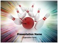 Bowling Editable PowerPoint Template