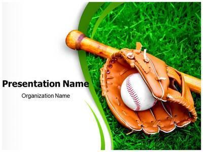 Baseball Sports Editable PowerPoint Template