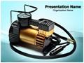 Car Air Compressor Editable PowerPoint Template